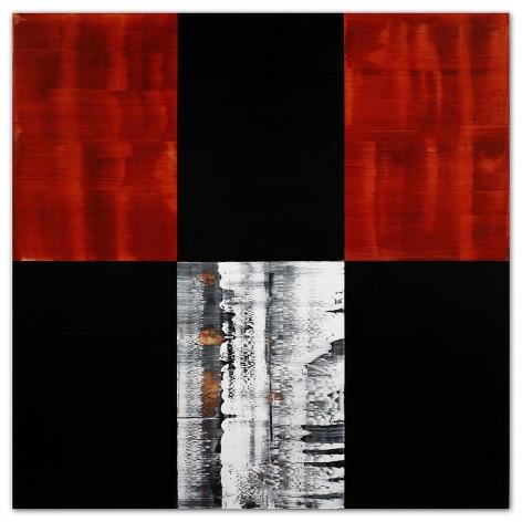 Ricardo Mazal, Kora C24, 2011, Oil on linen, 60 x 60 inches
