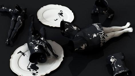 Drunken-Johnnie Walker, 2011, digital print, 47 x 82.7 inches