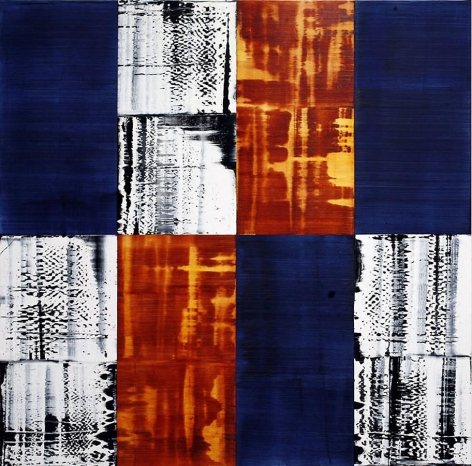 KORA C12, 2010, oil on linen, 72 x 72 inches