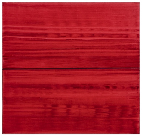 Violet Red 2, 2016, oil on linen, 23 x 24 inches/58.4 x 61 cm