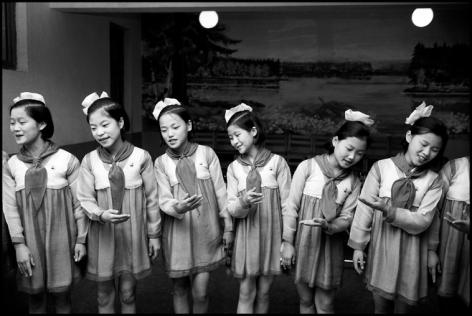 Hiroji Kubota, Pyongyang, North Korea, 1978, platinum print, 20 x 24 inches/50.8 x 61 cm © Hiroji Kubota/Magnum Photos