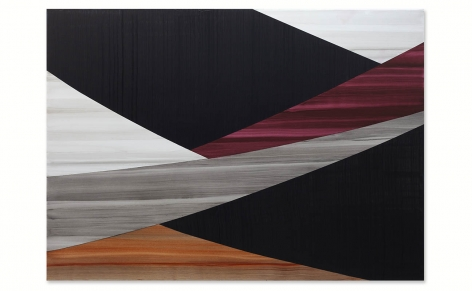 Full Circle P 20, 2021, oil on linen, 50 x 70 inches/127 x 178 cm