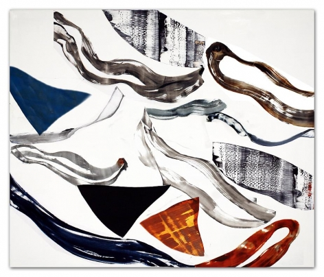 Ricardo Mazal, Kora PF8, 2011, Oil on linen, 66 x 78 inches