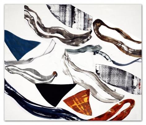Ricardo Mazal, Kora PF8, 2011, Oil on linen, 66 x 78 inches