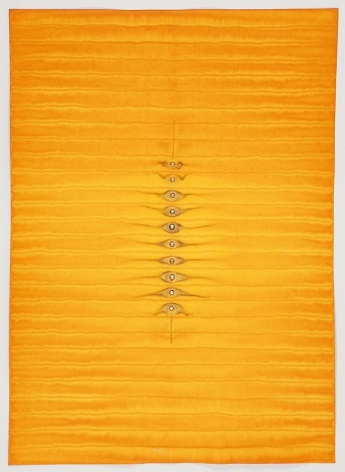 Sohan Qadri, Adya V, 2010, ink and dye on paper, 55 x 39 inches