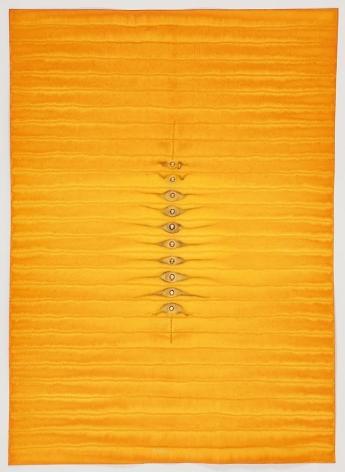 Sohan Qadri, Adya V, 2010, ink and dye on paper, 55 x 39 inches