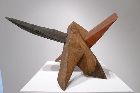 """Ballinskellig, 2002, oak, 19""""h x 24""""w x 33""""l"""