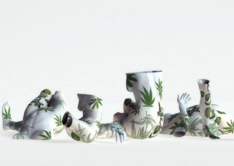 , Kim Joon, Fragile-Holy Plants, 2010, digital print, 47 x 66 inches / 119.4 x 167.6 cm., Edition 4/5.