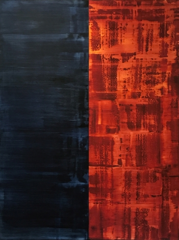 Mayo 10.10, 2010, oil on linen, 78 x 60 inches/198.1 x 152.4 cm