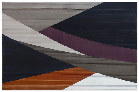 Full Circle P 1, 2020, oil on linen, 80 x 123 inches/203.2 x 312.4 cm