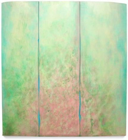 Botanikos, 2013, acrylic on fabric on wood,80 x 74 inches/203.2 x 180 cm