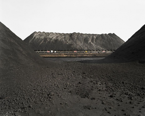 Edward Burtynsky, Bao Steel #7, Shanghai, 2005, Chromogenic color print, 39 x 49 inches