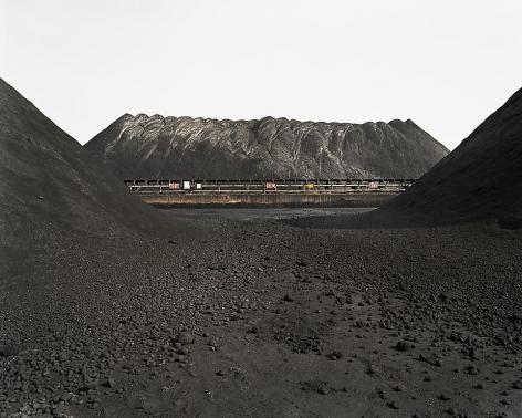 Edward Burtynsky, Bao Steel #7, Shanghai, 2005, Chromogenic color print, 39 x 49 inches