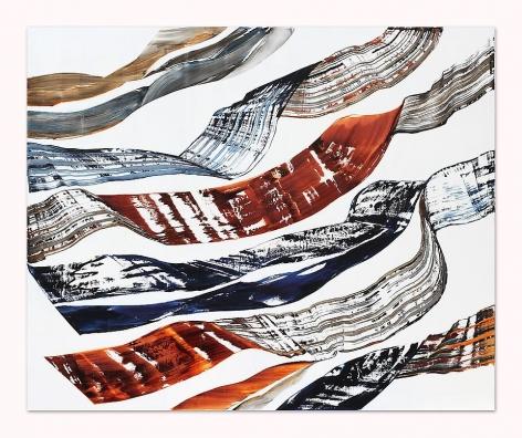 , Ricardo Mazal, Black Mountain PF4, oil on linen, 71 x 86.5 inches