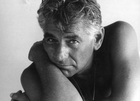 """Italy, Leonard Bernstein, 1967, Silver gelatin print, 9.5 x 13"""""""