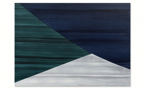 Full Circle P 22, 2021, oil on linen, 50 x 70 inches/127 x 178 cm