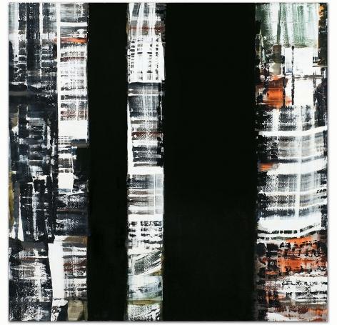 "ODENWALD 1152 N. 10, 2008, Oil on linen, 78 x 78"""