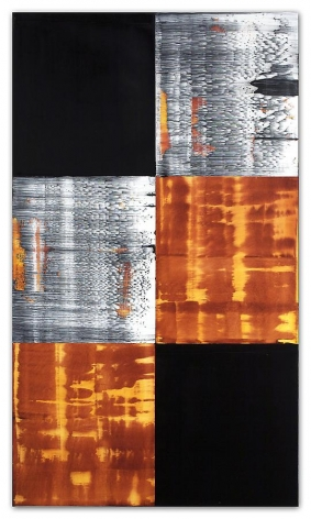 Ricardo Mazal, Kora C25, 2011, Oil on linen, 66 x 38 inches