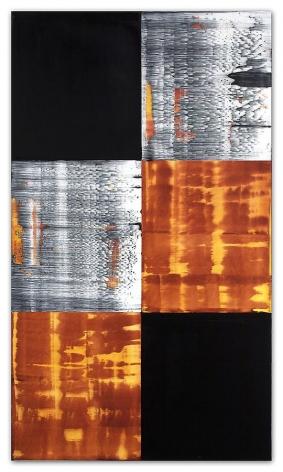 Ricardo Mazal, Kora C25, 2011, Oil on linen, 66 x 38 inches