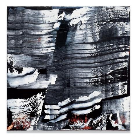 Ricardo Mazal, KORA MK4, 2010, oil on linen, 33 x 33 inches