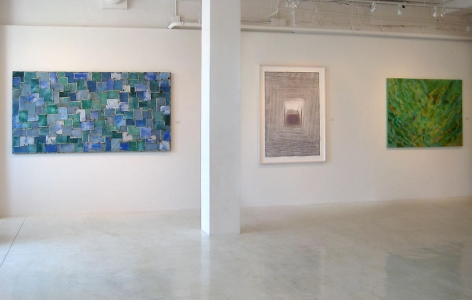 Sundaram Tagore Gallery, Beverly Hills. Dimensions of Color.