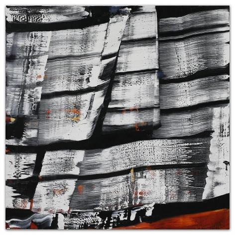Ricardo Mazal, Kora MK13, 2011, Oil on linen, 50 x 50 inches