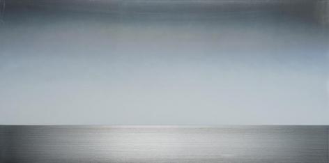 , Hamon 2.4.6, 2016, pigment and urethane on aluminum, 24 x 48 inches/61 x 122 cm