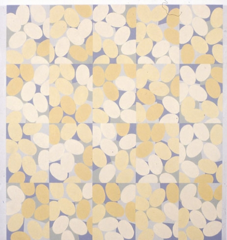 Betty Weiss, White Lies, 2002, Acrylic on Canvas, 60 x 55""