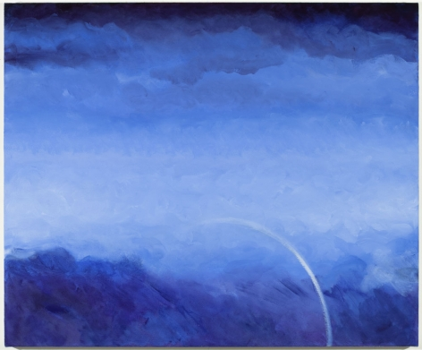 Arc, 2010,oil on canvas,24 x 29 inches/61 x 73.7 cm