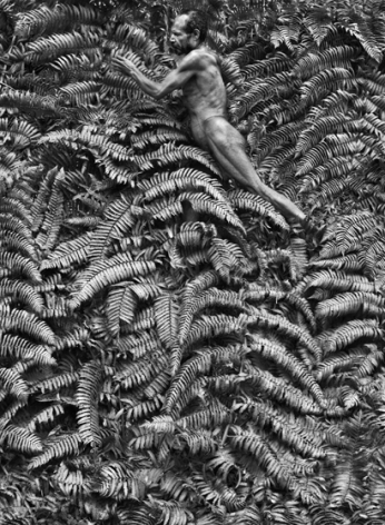 Yali man, West Papua, Indonesia, 2010, Gelatin silver print, 68 x 50 inches/180 x 125 cm