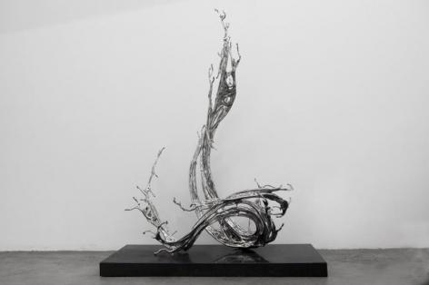 Zheng Lu, Jin Bo, 2017, 69.7 x 31.5 x 44.9 inches/177 x 80 x 114 cm