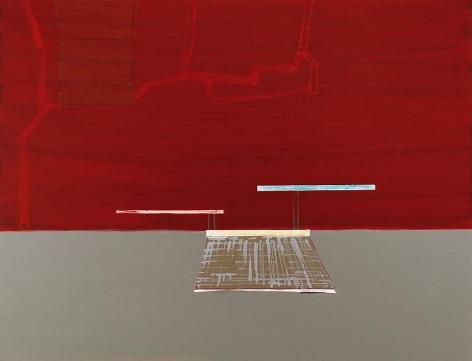 cheyenne, 2009, acrylic on panel, 16.5 x 21.5 inches