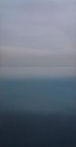 Heijyoshin (Equanimity) 63.33, 2020, dye, pigment, resin and urethane on aluminum, 63 x 33 inches/160 x 83.8 cm