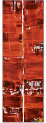 ODENWALD 1152 N. 15, 2008, Oil on linen, 98.5 x 33""