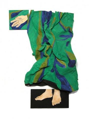 "Susan Weil, Revelations, 1982, Acrylic on canvas, 60 x 42"""