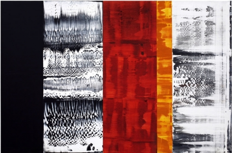 Ricardo Mazal, Enero 4.10, 2010, oil on linen, 40 x 60 inches