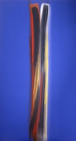 Tribanga , 2005, Acrylic on linen, 94.75 x 51.75""