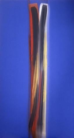 Tribanga, 2005, acrylic on linen, 94.75 x 51.75 inches/241 x 131 cm