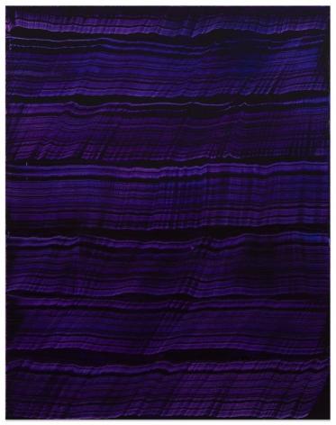 Violet Blue 3, 2016, oil on linen,70 x 55 inches/177.8 x 139.7 cm