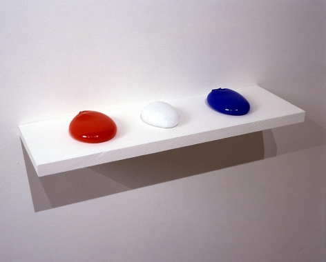 Michael Petry, He Who is Without, 2006-2007, Glass (3 pieces), dimensions variable
