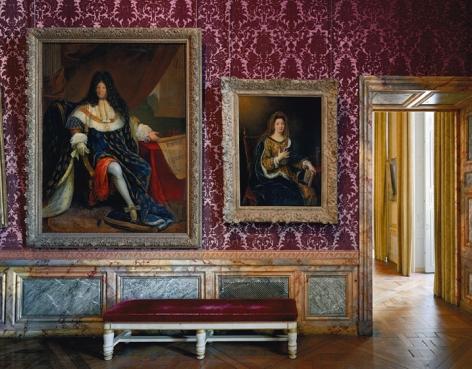Salle St Cyr et de Madame de Maintenon, (89) ANR.02.007, Salles du XVII, Aile du Nord - 1er etage, Chateau de Versailles, France, 2008, chromogenic color print,50 x 60 inches/127 x 152.4 cm