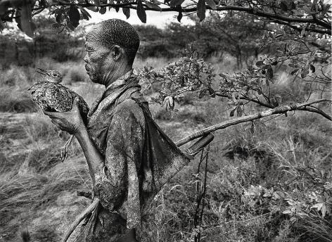 Bushmen, Botswana [Bird Man], Africa © Sebastião Salgado/Amazonas Images, 2008