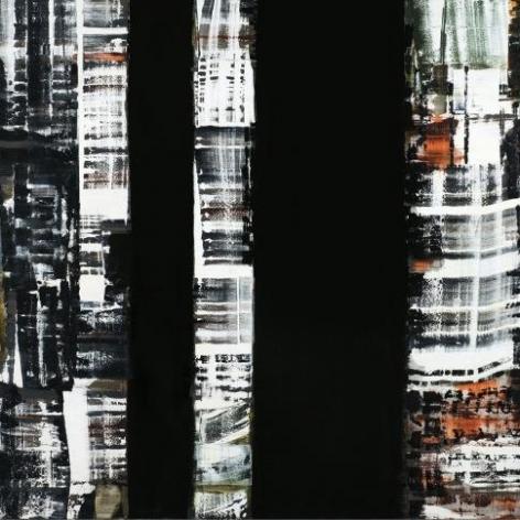 Ricardo Mazal, ODENWALD 1152 N.10, 2008, Oil on Linen, 198 x 198 cm