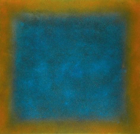 Natvar Bhavsar, TRUPTYA, 2007, pure pigment on canvas, 52 x 48 inches