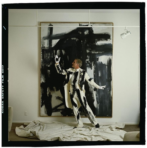 Annie Leibovitz, Steve Martin, Beverly Hills, California, 1981, archival pigment print, 40 x 40 inches