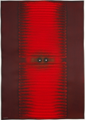 Amisha III, 2007, ink and dye on paper, 39 x 27 inches/99.1 x 68.6 cm
