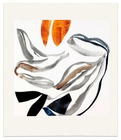 Ricardo Mazal, DM-11-665, 2011, Oil on paper, 32.5 x 29 inches/83 x 74 cm