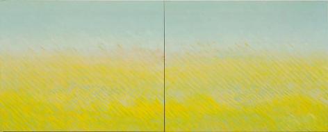 Latitude, 2007, oil on canvas, 48 x 120 inches