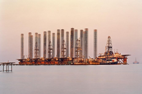 Edward Burtynsky, SOCAR Oil Fields #6, 