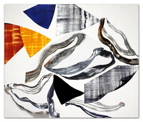 Ricardo Mazal, Kora PF9, 2011, Oil on linen, 66 x 78 inches